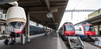 rail cctv site security
