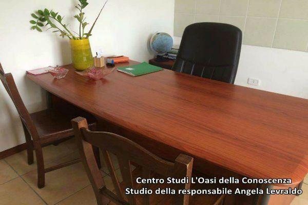 scrivania di legno