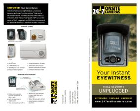 Videofied brochure