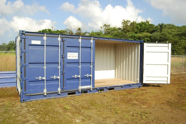 Big island container sales rental llc storage containers keaau hi - Container homes hawaii ...