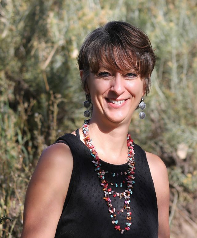 Pam Alcorn, insurance agent in Chama, NM