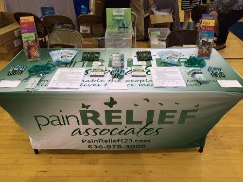 Health fair by pain relief