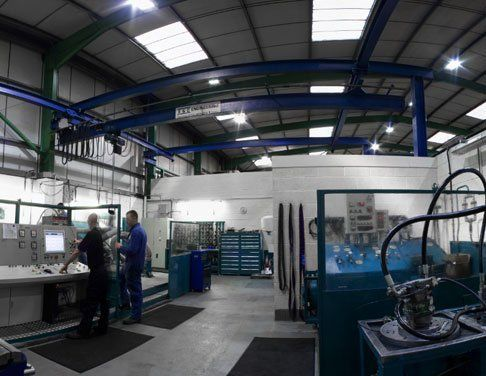 Motor and pump test facilities