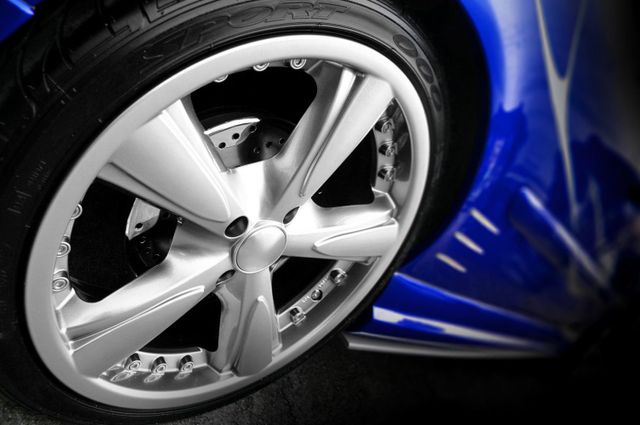 Tyre fixed by our tyre service in Tauranga