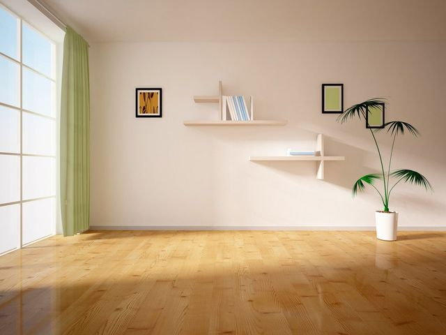 wooden flooring in domestic property