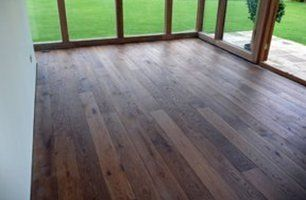 deck after completion