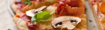 pizza con mozzarella di bufala