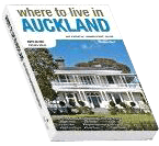 Cover page of where to live in Auckland