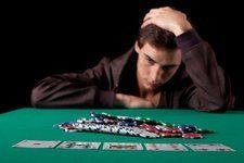Man with Gambling Addiction