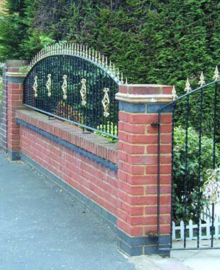 Wrought Iron Gate and Fencing