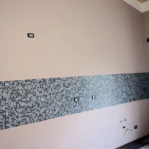 Mosaico realizzato dalla Falcon General Contract di Gambara