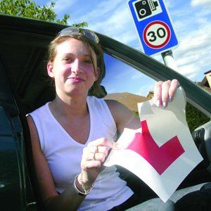 Beginners driving lessons