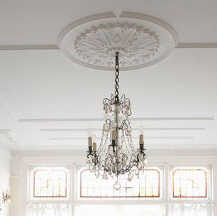 Professional chandelier restoration