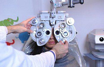servizi ottici, misurazione vista, esame della vista