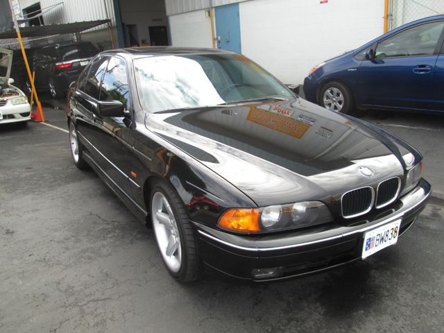 BMW 528I after visiting our auto body shop in Waipahu, HI