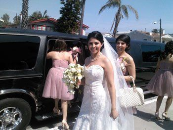 Wedding limo san diego