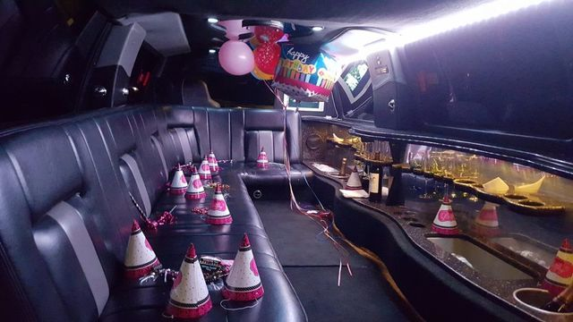 14 Pass. Ford Excursion limo