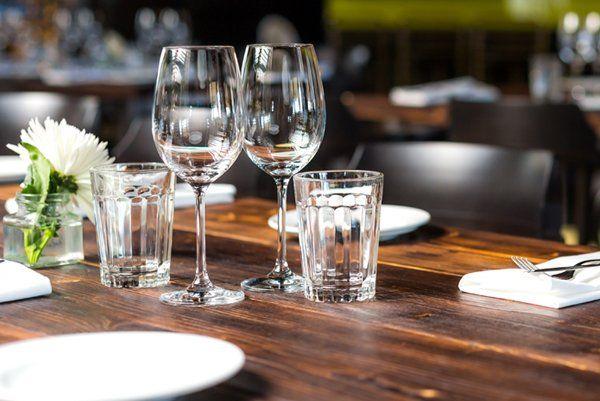 Tavolo da pranzo al Bar Centrale Nuoro