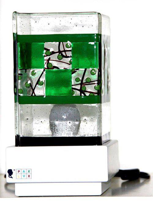 La lampada Pax Lux verde a Teolo