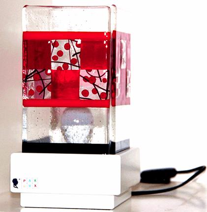 La lampada Pax Lux rossa a Teolo