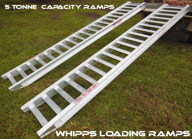5 tonne capacity Machinery, excavtor, bob cat, tractor, truck, backhoe loading ramps bobcat backhoe excavator tractor