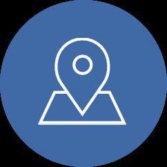 icona localizzazione geografica