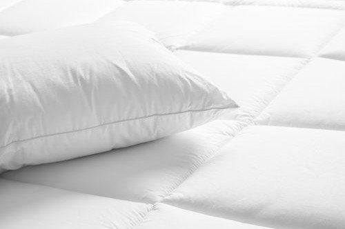 cuscino su un materasso