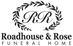 Roadhouse and Rose Funeral Home logo