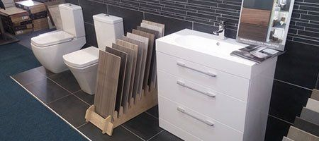 section of our tile shop in Milton Keynes