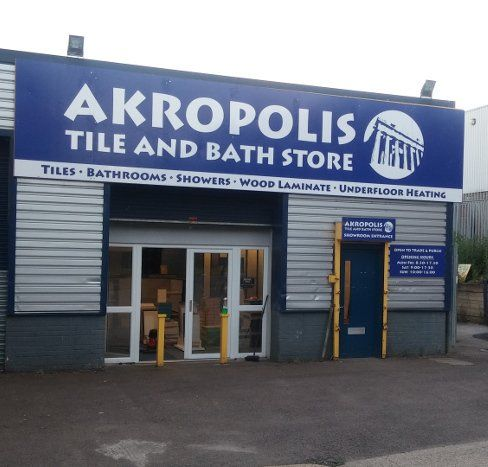 front of our tile shop in Aylesbury