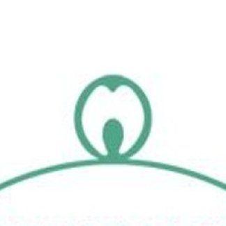 Icona di un dente tondeggiante