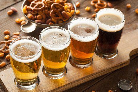 Boccali di birra artigianale a Zanè