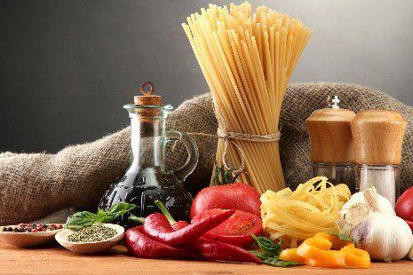 Ingredienti per spaghetti a Zanè