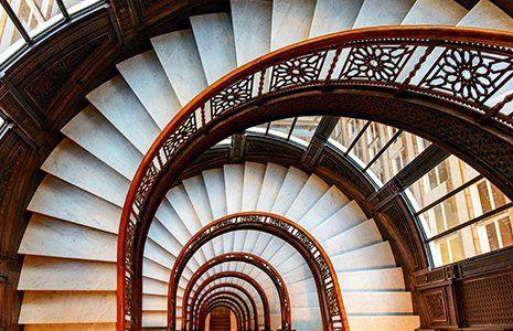 Beautiful stairways