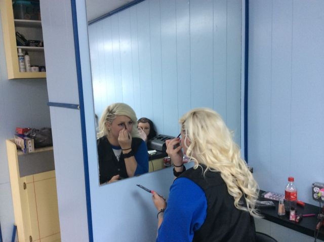 Cosmetology course going on in a classroom in Bald Knob, AR