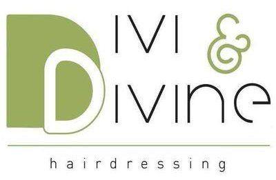 DIVI & DIVINE hairdressing logo