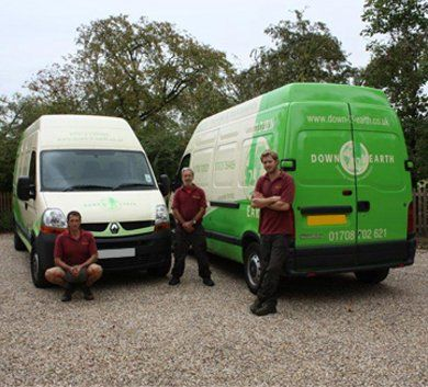 Landscaping - Brentwood - Down 2 Earth Garden Services & Maintenance - Staff