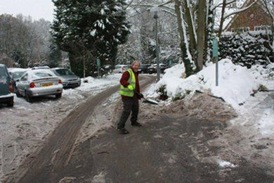 Commercial - Witham - Down 2 Earth Garden Services & Maintenance - Snow clearance