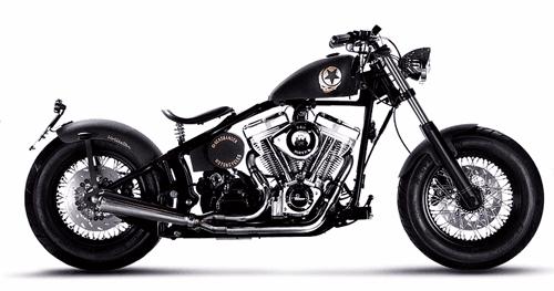 motocicletta Hollister