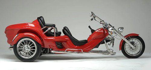 moto modello Rewaco due posti rosso