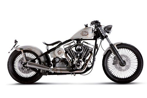 motocicletta Headbanger modello high Flyin`