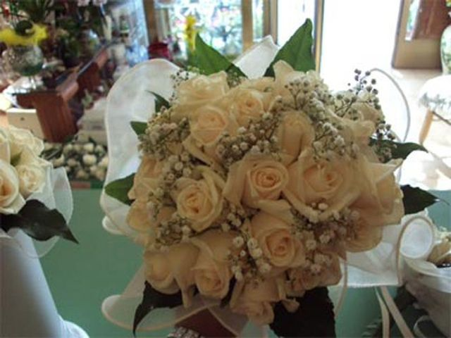 bouquet di rose gialle