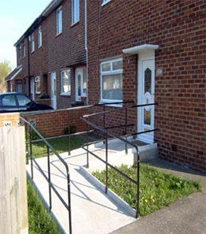 Building and construction services - Newcastle, Tyne and Wear - Prospect Builders Ltd - Handrail ramp