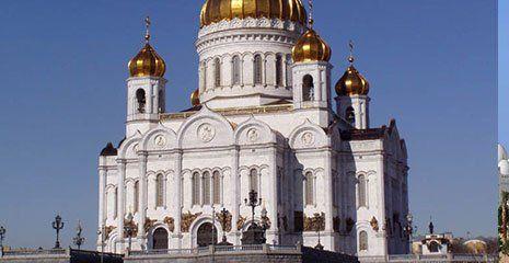 chiesa ortodossa bianca