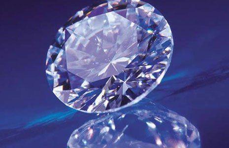 un grande diamante