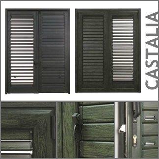 persiane con telaio a marchio CASTALIA