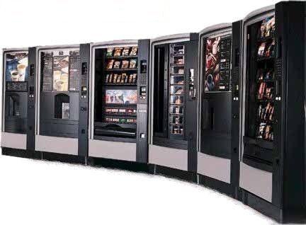 distributori automatici di cibo e bevande