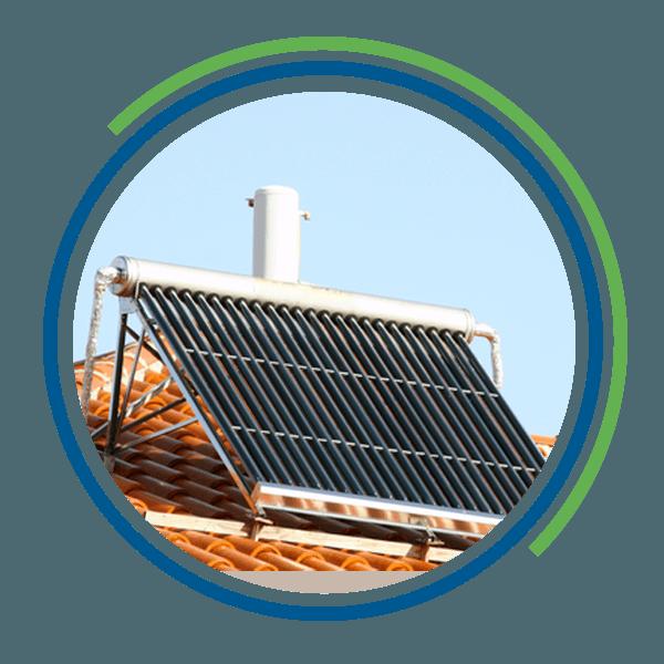Impianto di microgenerazione su un tetto