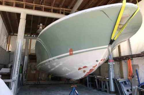 Boat Repair services - Bluffton, SC - Custom Marine Finishes