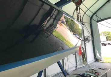 Boat Repair gallery - Bluffton, SC - Custom Marine Finishes